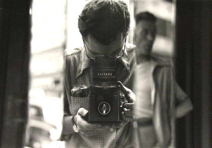 self portrait.. Saul Leiter
