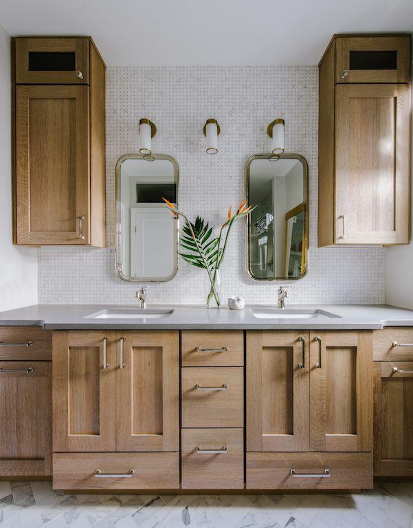 20+ Bathroom ideas with oak cabinets type