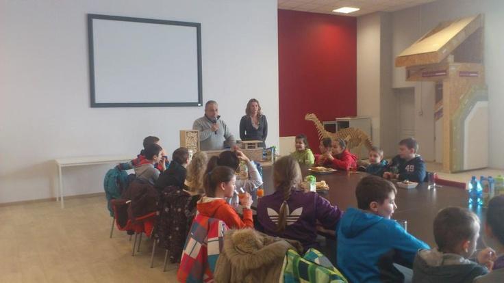 Wizyta uczniów ze Szkoły Podstawowej w Olbrachtowie