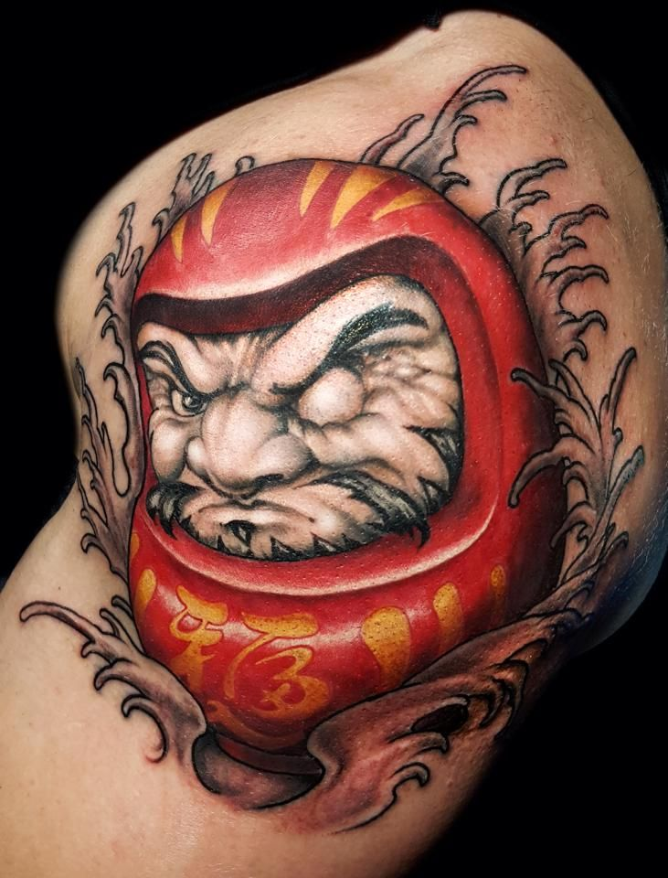 daruma doll tattoo
