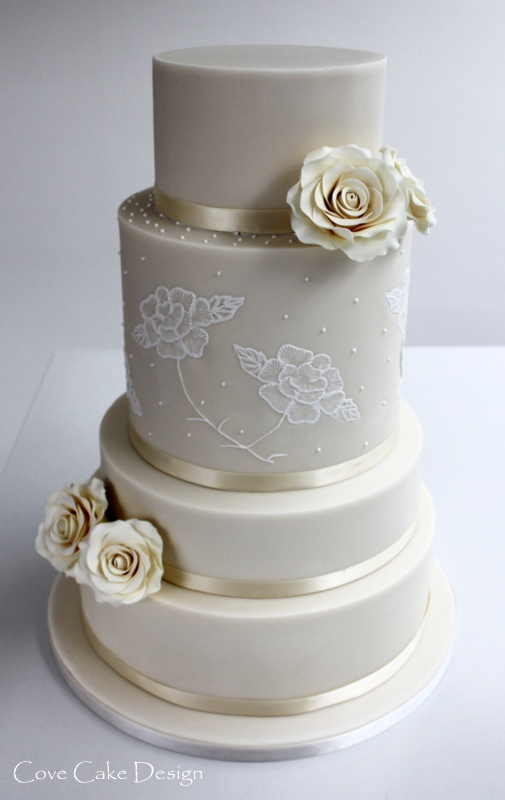 Images about brush embroidery cakes on pinterest