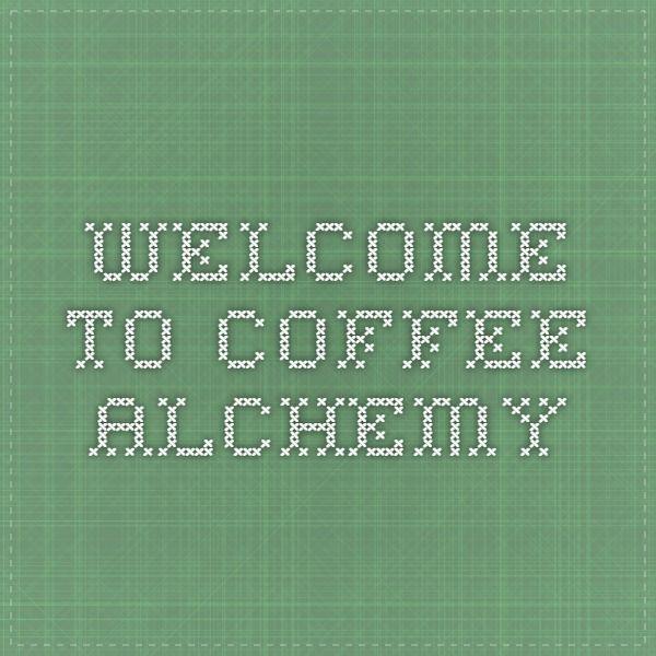 Coffee Alchemy