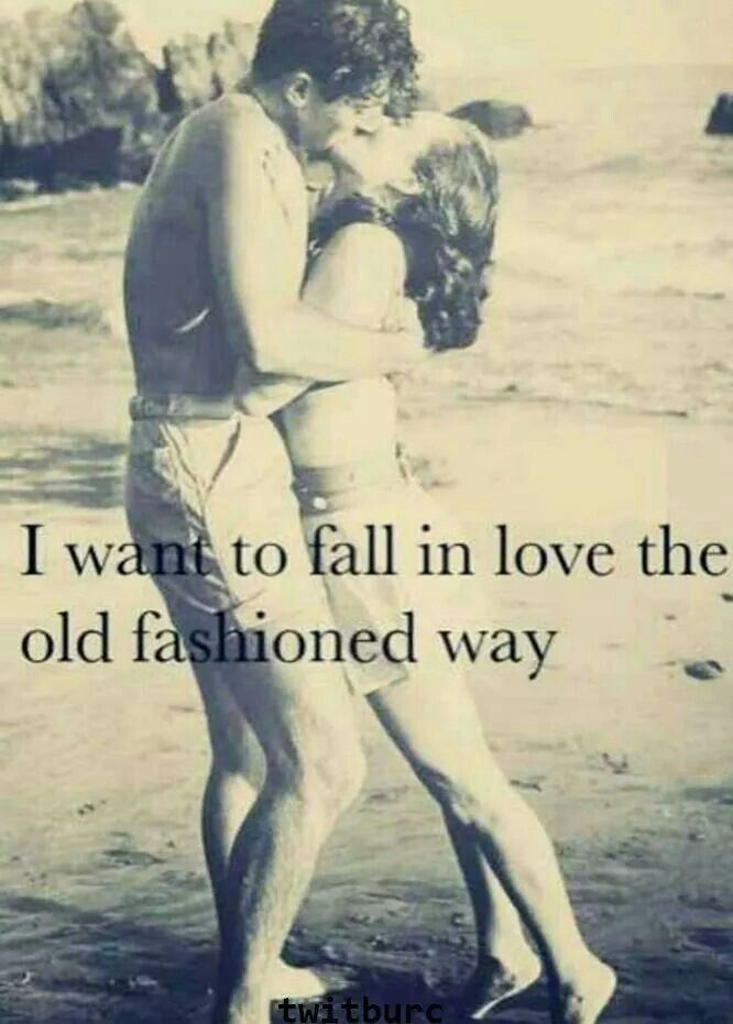 Good, old fashioned love :)