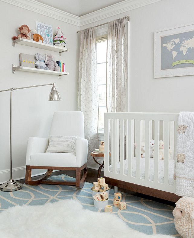 Benjamin Moore Calm Oc 22 Light Gray Color Paint Inspirations Pinterest Nursery Modern And Design