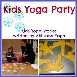 Are you looking for a fun, active birthday party idea?! Read how a mom and her eight-year-old daughter planned a Kids Yoga Holiday Party! A free The Butterfly in the Jungle yoga story is included. >> Kids Yoga Stories