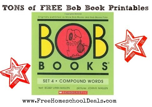 Free Homeschool Printables: Tons of FREE Bob Book Printables
