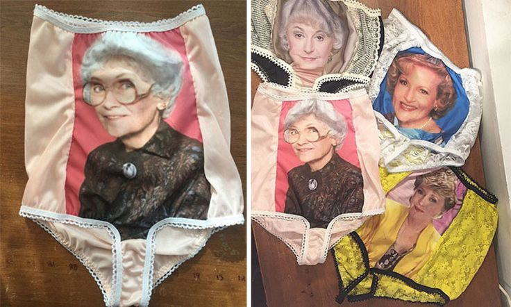These panties are definitely going to end up in someone's stocking.