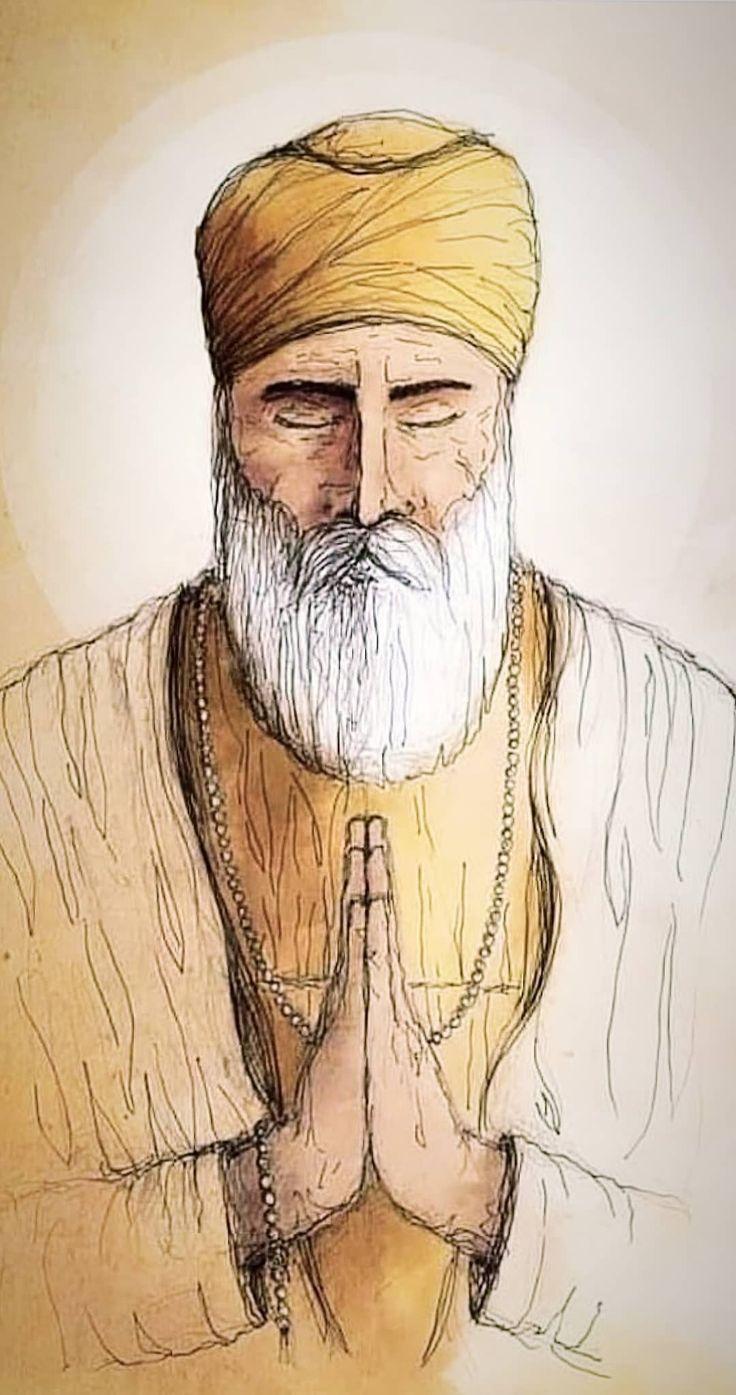 ਵਾਹਿਗੁਰੂ 💝🙏 in 2020 Shri guru granth sahib, Nanak dev ji