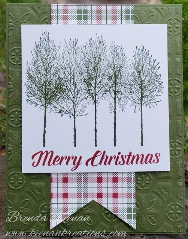 Christmas cards using new Holiday catalog items from Stampin\' Up ...