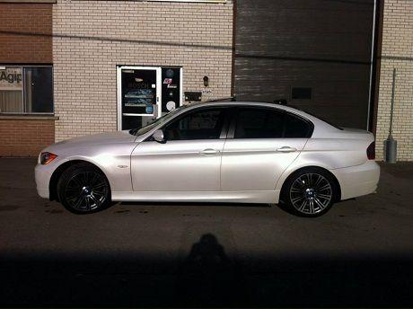 BMW Fairfax Service >> Pearl white BMW plasti dip | Plasti Dip Pearlizer Spray ...