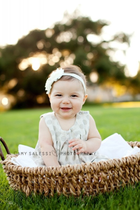 6 month photo shoot love the out door them