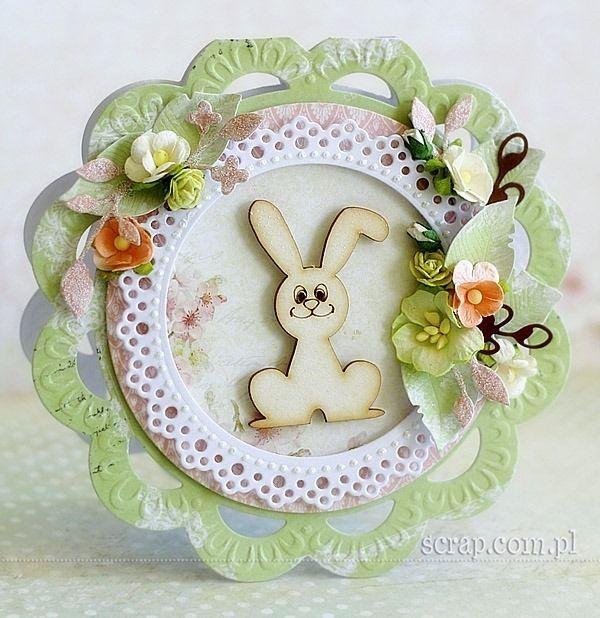 Easter bunny  http://www.hurt.scrap.com.pl/wielkanocne-wesole-zajaczki-z-tekturki-5-szt.html