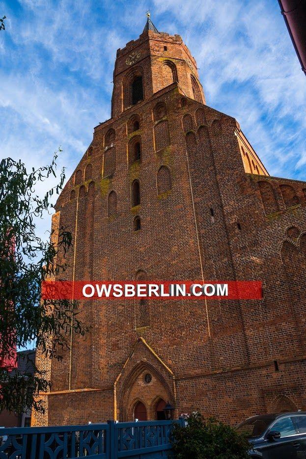 Marienkirche Beeskow Im Landkreis Oder Spree In Brandenburg Brandenburg Germany Deutschland