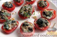 Фото к рецепту: Сладкие фаршированные помидоры черри