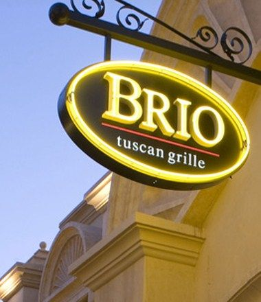Brios happy hour with corla sue and others  2/21/14