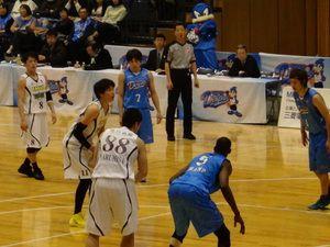 常葉大学男子バスケットボール部:NBL観戦 OBたちの活躍