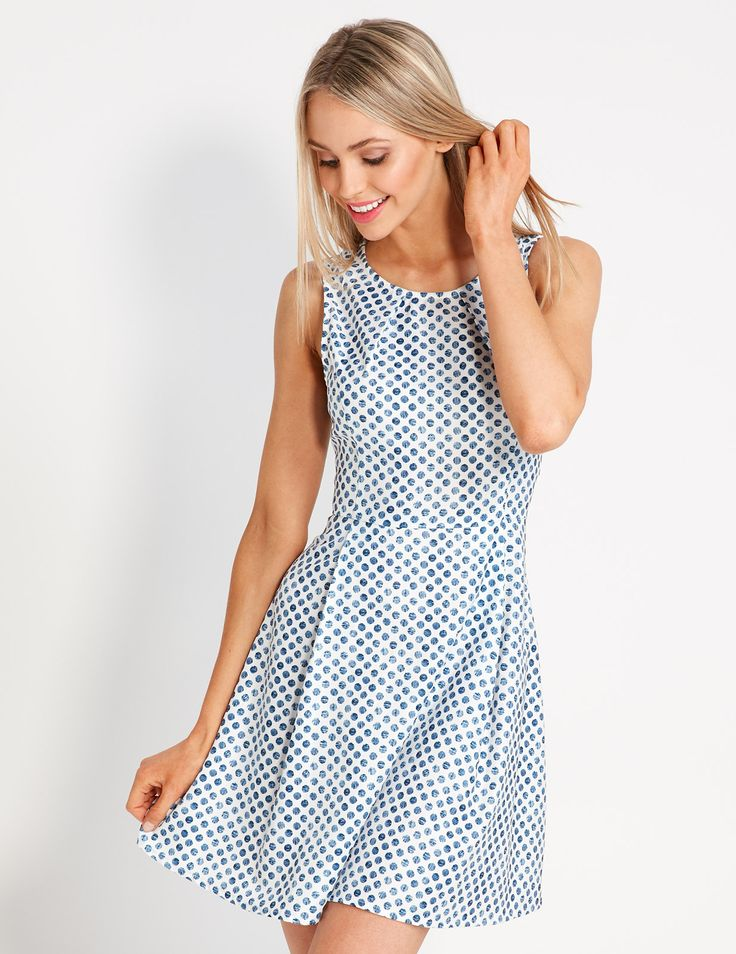 Fun Little Skater Dress | Dotti NZ