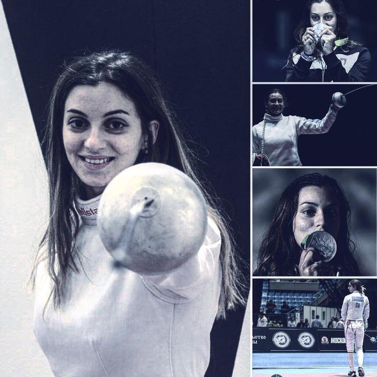 #Rio2016 #olympic #games #fencing #spada #femminile #finale #rossellafiamingo #thebest #champion #scherma #olimpiadi2016 #summer #medaglia #argento #italia #nazionale #olè