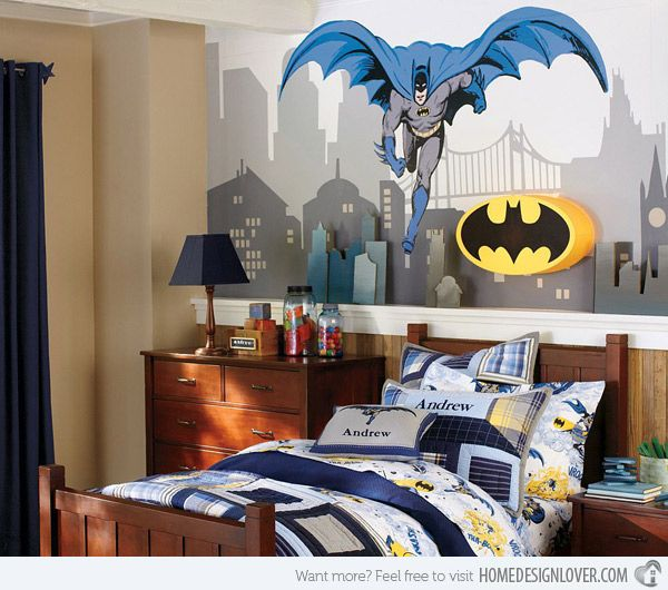 42 best images about superhero stuff on pinterest batman for City themed bedroom ideas