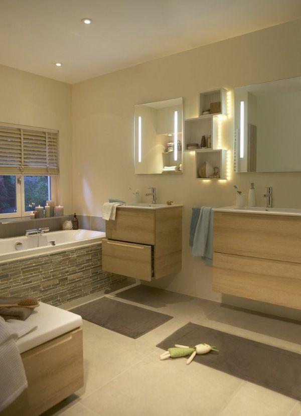 Salle de bain zen- le printemps est là! - salle-de-bain-bois
