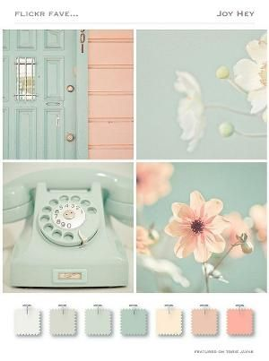 Lovely pastel color combination. by christi
