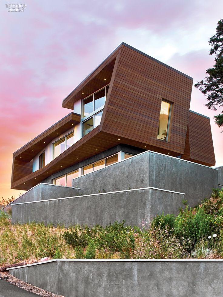 Bauhaus-Style Cape Cod House Gets A Guesthouse by Hariri & Hariri