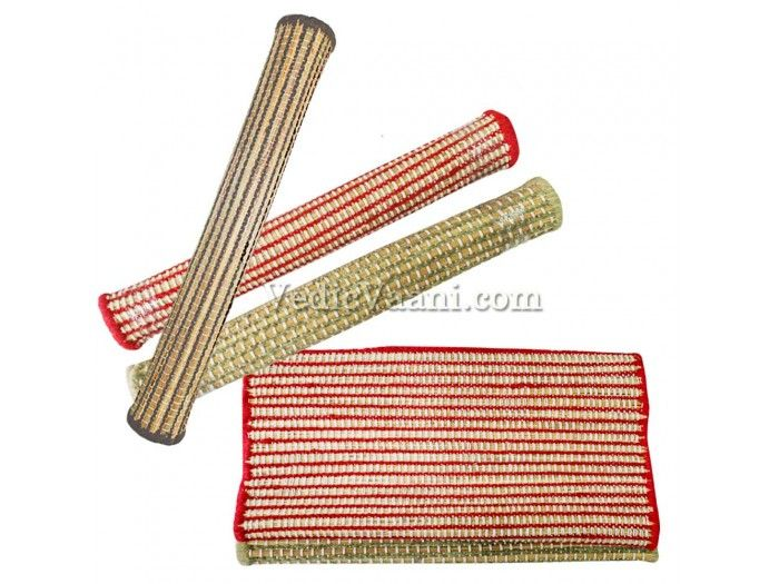 "Natural Darbhasan Mat, Online wholesale mats, Vedicvaani.com. Natural Kusha Grass Mat supplier, meditation mat, Yoga mats, Yoga asan and Prayer Mats.  A traditional type of prayer mat is the one made with grass and is called ""Kush Aasana"". http://vedicvaani.com/index.php?_route_=Natural-Darbhasan-Mat . It is said that ""Kush Aasana""allows the yogi to maintain that serene state of mind without being affected by the adversity of the environment surrounding him."