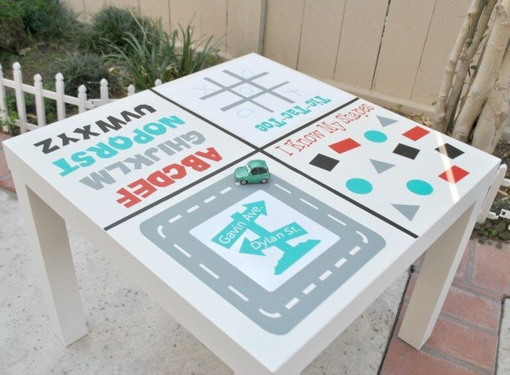 DIY Idea: Toddler Activity Table