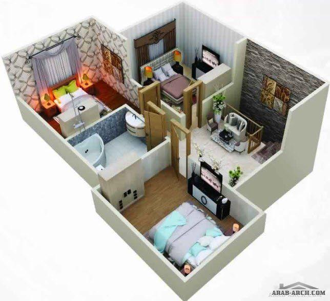 مخطط 4 غرف نوم ارضى 19 م عرض X 22 35 م عمق مساحه 302 84 م House Design Pictures Bungalow Floor Plans Drawing House Plans