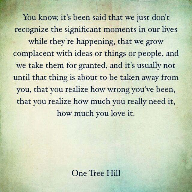 One Tree Hill quotes.  Love.  Life.  Lucas Scott.  OTH.
