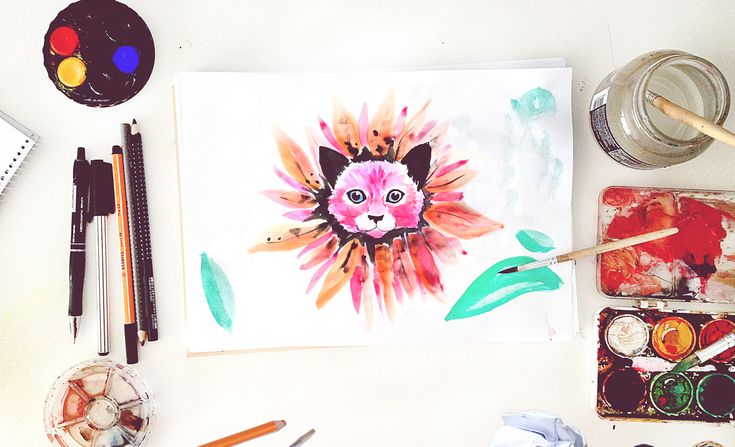 illustrations for VOUS on Behance