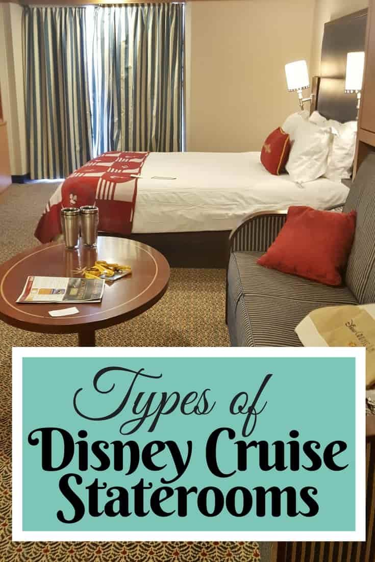 Choosing the Right Disney Cruise Stateroom can be challenging if you can't visualize what the room looks like. Here is our guide to types of staterooms. via @disneyinsider