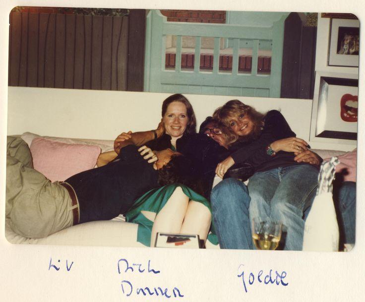 Liv Ullmann, RIchard Donner and Goldie Hawn