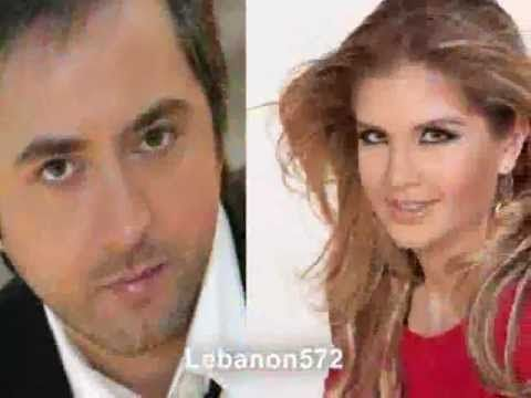 Marwan khoury Ft Aline Lahoud - Baashak Rouhak - YouTube