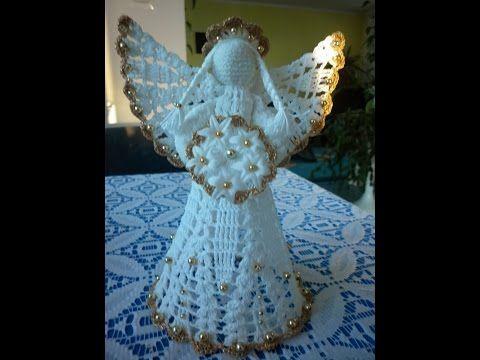Рождественские ангелы крючком. Сrochet Cristmas Angels. - YouTube