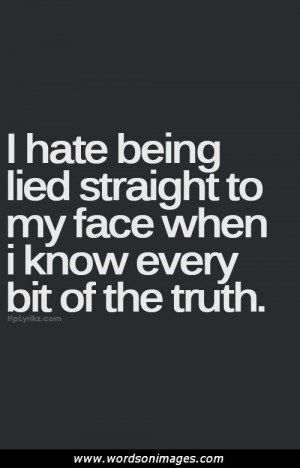 Quotes about liar...