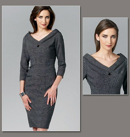 Great dress up/dress down look   Vogue pattern 1254.