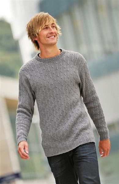Tema 26: Modell 14 Herregenser #strikk