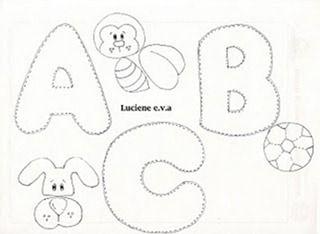 Alfabetos Gordinhos Moldes Com Imagens Molde Alfabeto