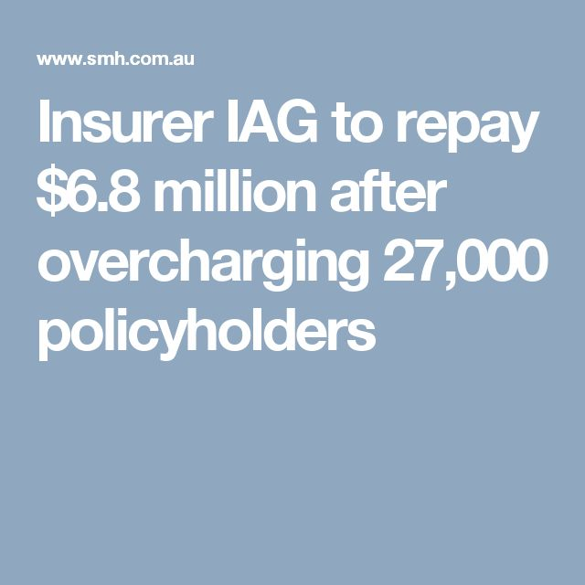 Insurer IAG to repay $6.8 million after overcharging 27,000 policyholders
