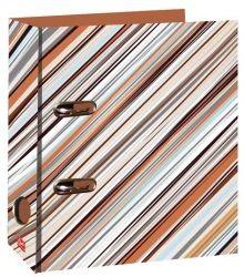 Kroužkový pořadač A4/7cm - Cream Stripe č. 21618 LAF7