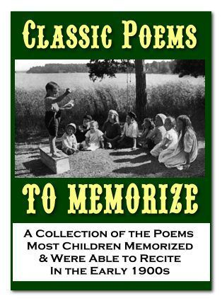 Classic Poems to Memorize | Homeschool Freebie of the Day