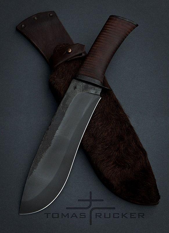 Tomas Rucker Knives - love the sheath