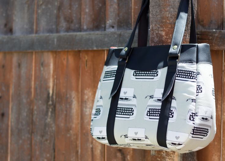 Evelyn Tote (Swoon Patterns) sewn up by Small Town Thread