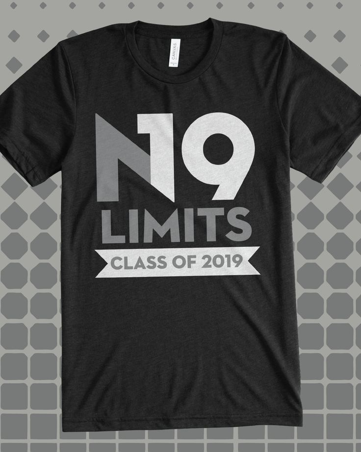 Limits Class of 2019 class shirt - design idea for custom shirt - class  shirt, senior year, graduation, school pride, class pride (Diy School Shirts )