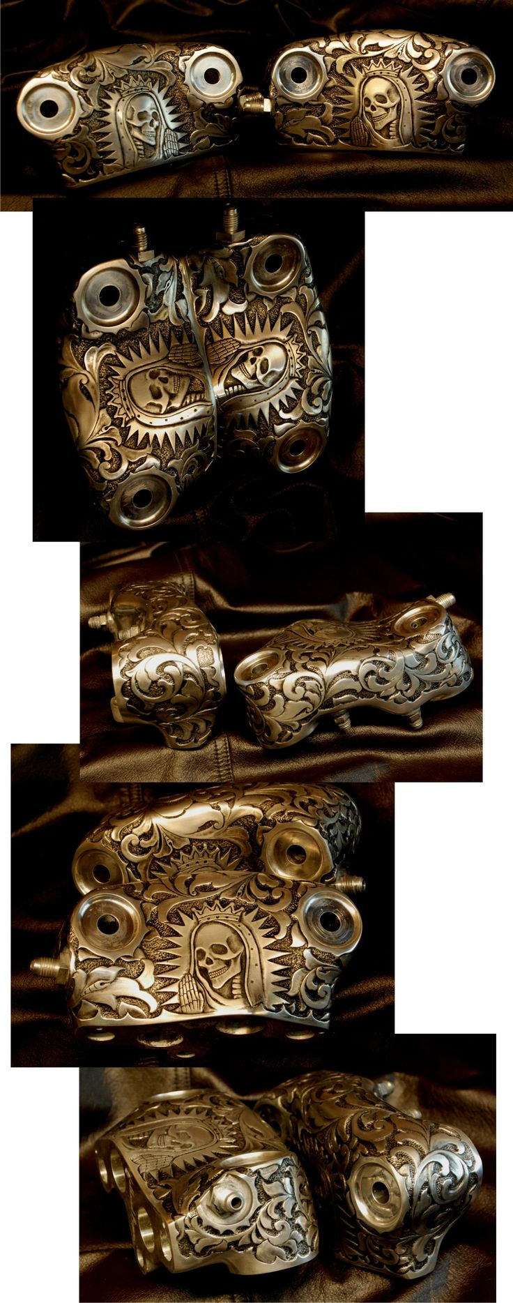 Otto Carter engraving - Godspeed Knucklehead Motor Parts