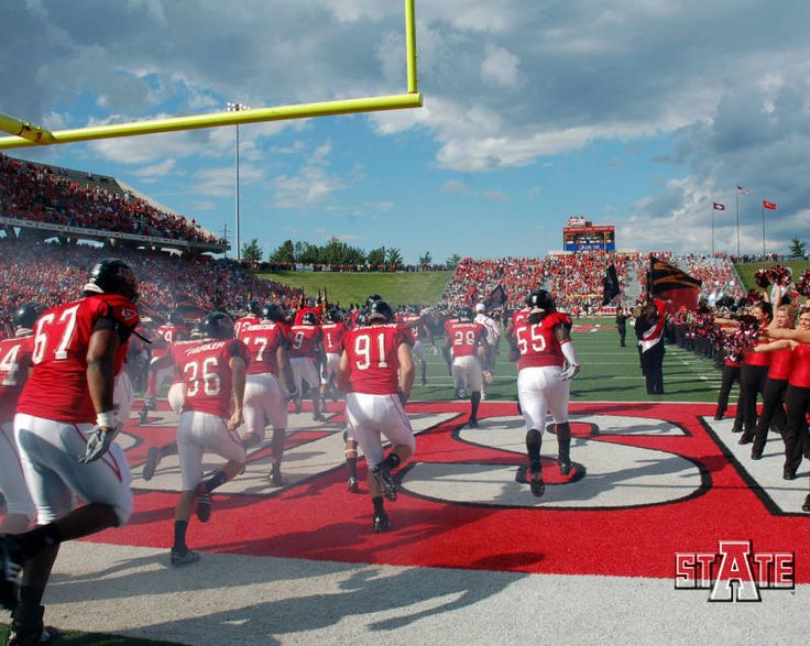 JONESBORO (1/5/11) - The entire Arkansas State football coaching staff will be in attendance at A-State's Recruiting Round-up on Wednesday, Feb. Description from astateredwolves.com. I searched for this on bing.com/images