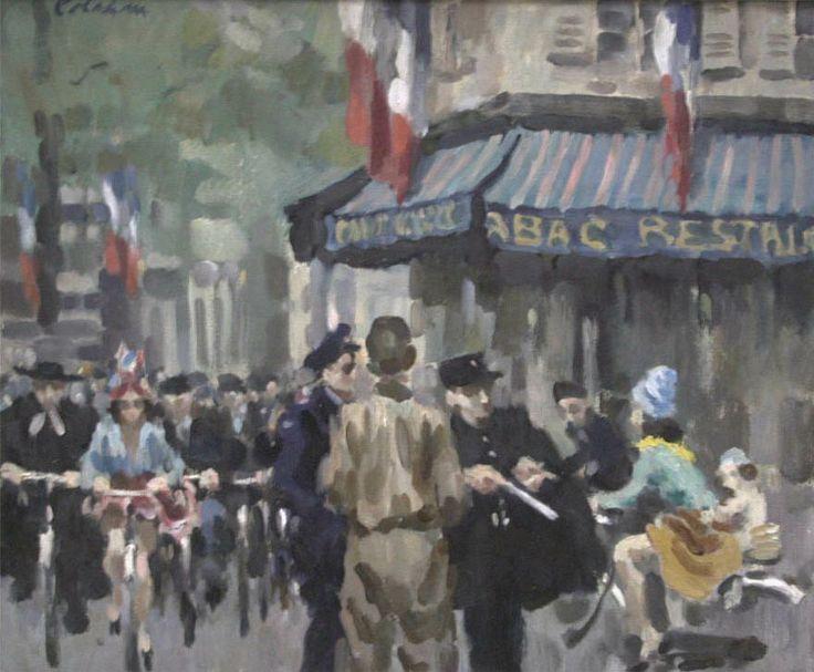 Liberating Paris by Colin Colahan