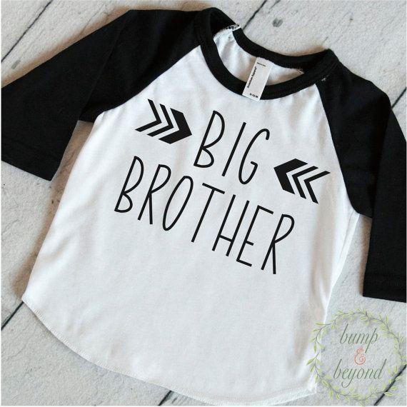 Big Brother Shirt Big Brother Announcement door BumpAndBeyondDesigns