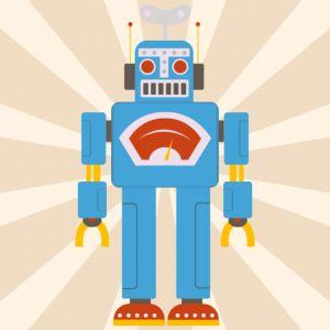 Plakat Robot Kazio NUNU BABA